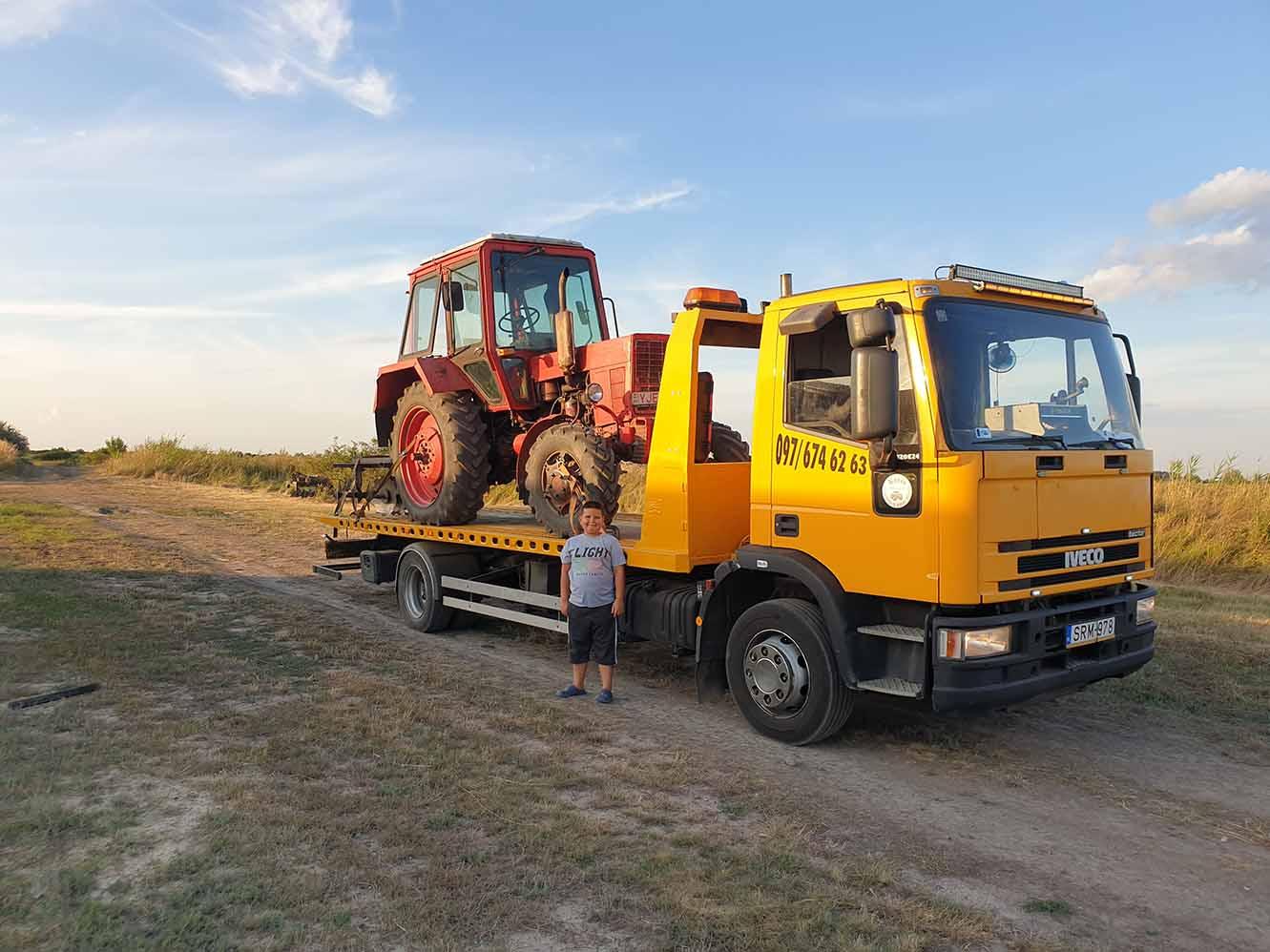 mezőgazdasági gépszállítás hajdú bihar megye